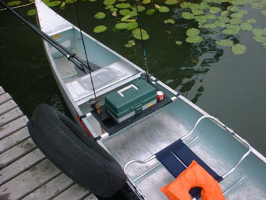 Every Canoe Fisherman/'s Necessity The Canoe Angler!